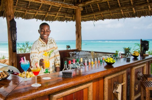 Hideaway of Nungwi Resort and Spa Zanzibar Makuti beach bar
