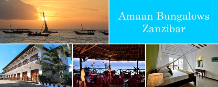 Amaan Bungalows Zanzibar packages