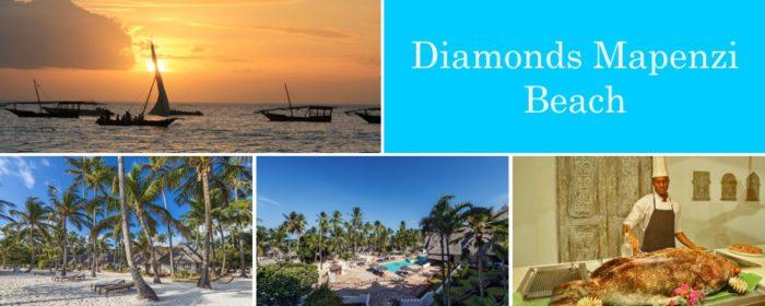 Diamonds Mapenzi Beach Zanzibar packages