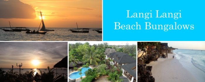 Langi Langi Beach Bungalows Zanzibar packages