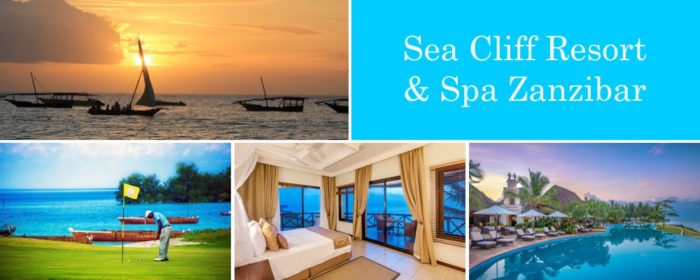 Sea Cliff Resort and Spa Zanzibar packages