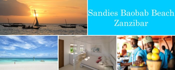 Sandies Baobab Beach Zanzibar packages